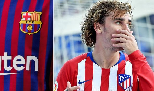 Barcelona Atletico Madrid Antoine Griezmann Transfer 1126479