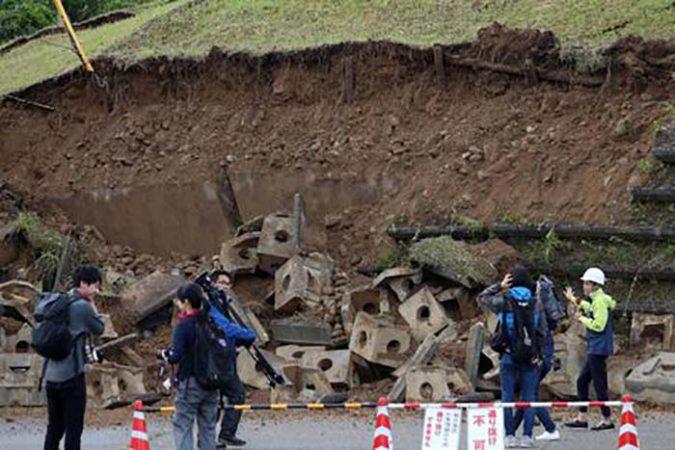Strong Earthquake Hits The Prefectures Of Niigata And Yamagata
