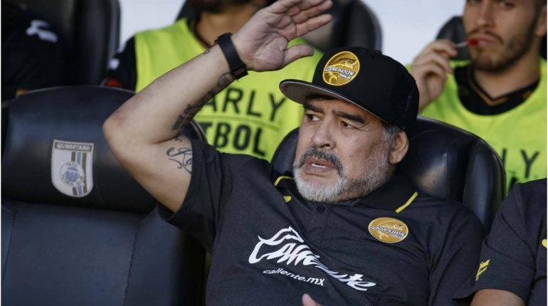 Diego Maradona Dorados De Sinaloa 1560495187 22972