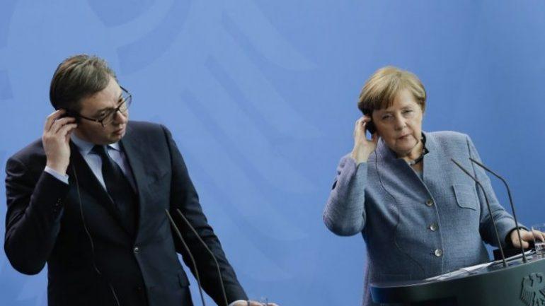 Vucic Merkel