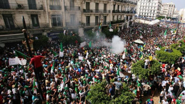 773x435 Algerian Protesters Keep Up Pressure On Countrys Rulers