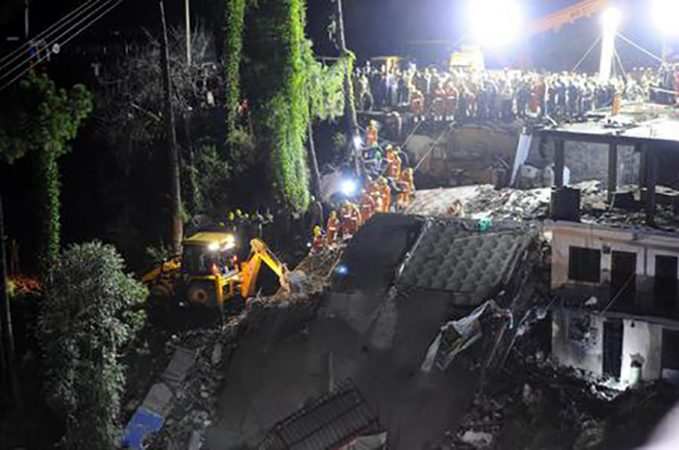 Building Collapse Kills Two In Solan, India