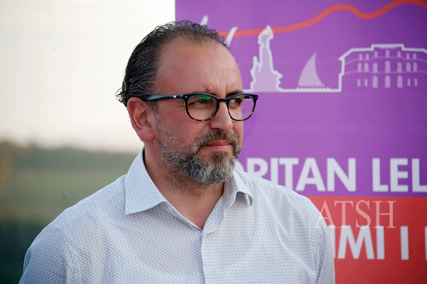 Dritan Leli Kandidat I Ashe Per Vloren Foto Harilla Koçi