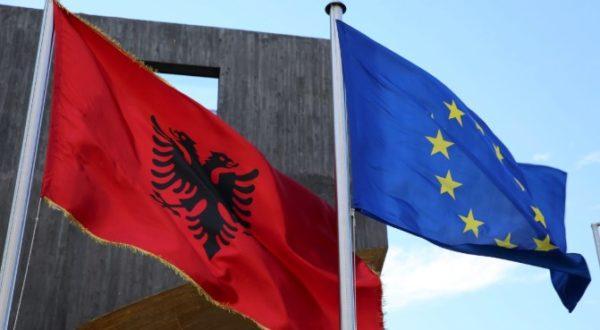 Bashkimi Europian Dhe Shqiperia 600x330