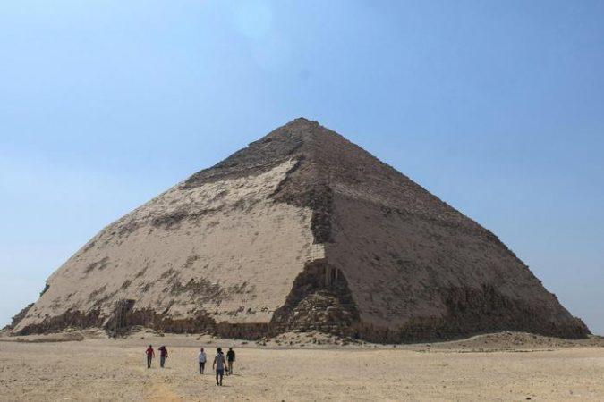 Egypt Opens Bent Pyramid Of Sneferu After Restoration