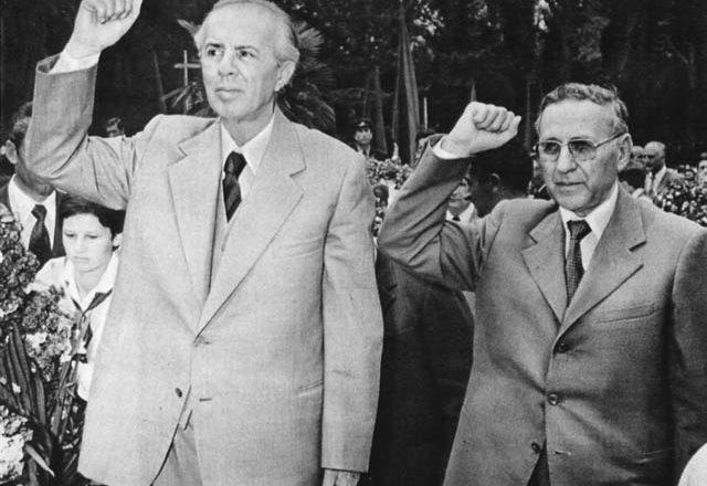Enver Hoxha Mehmet Shehu
