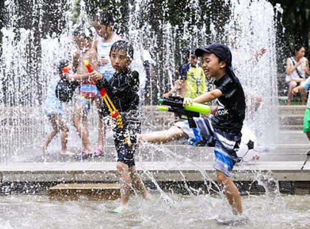 Heatwaves Bring Highest Temperature 41.1 Degrees Celsius In Japan