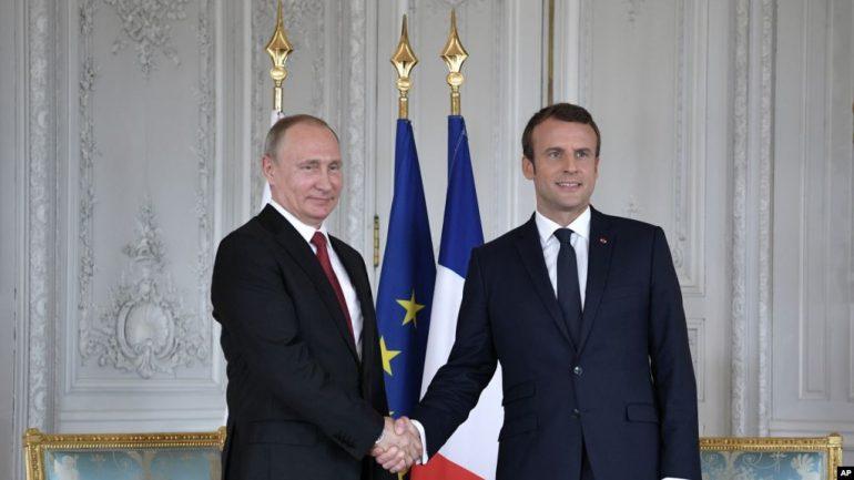 Makron Putin1