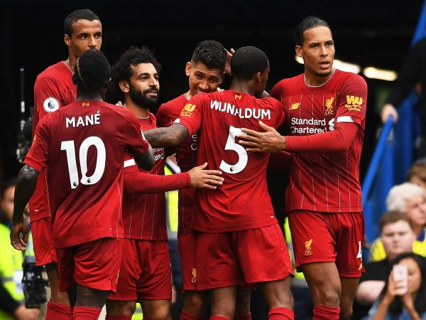 0 Chelsea Fc Vs Liverpool Fc London United Kingdom 22 Sep 2019