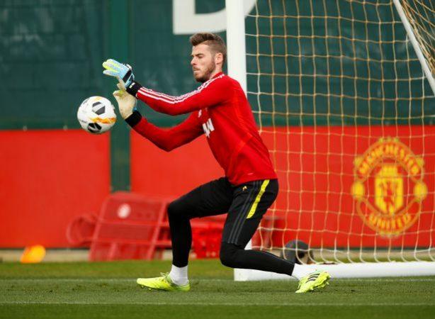 0 Europa League Manchester United Training