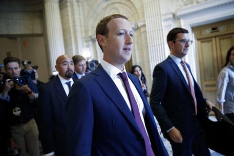 Facebook Ceo Mark Zuckerberg Attends Meetings On Capitol Hill