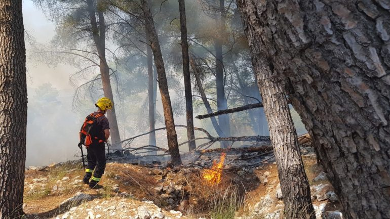Zjarret Elbasan (1)