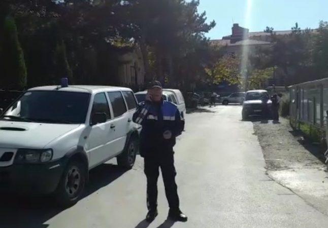 Policia Korce Bomba Gjyqtari Markelian Kuqo