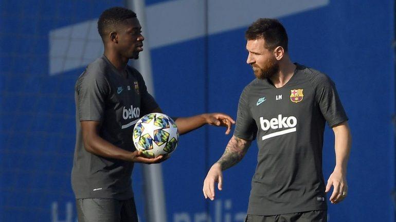 Dembele Messi Entrentro Ante Inter 1569952356212