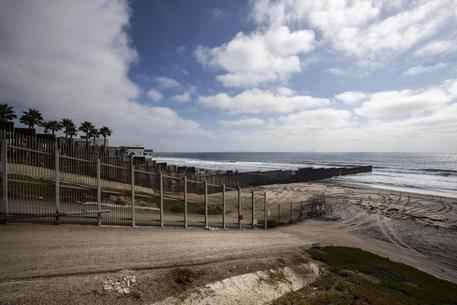 Us Mexican Bordan In San Diego