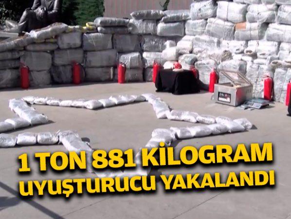Istanbul Da 1 Ton 881 Kilo Uyusturucu Madde Ele Gecirildi H23945 Ff8ea
