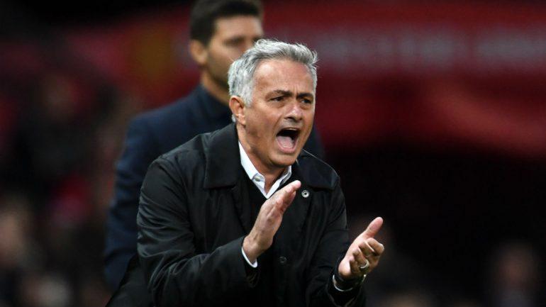 Jose Mourinho Manchester United Tottenham Premier League Gettyimages 1024643322