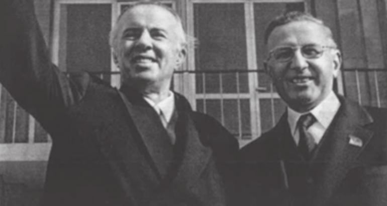 Mehmet Shehu Dhe Enver Hoxha