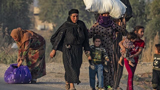Syria Conflict Turkey Kurds