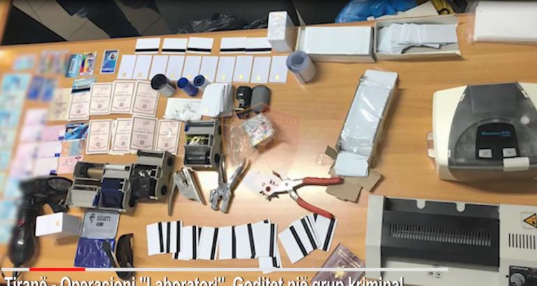Operacioni Ne Itrnae Grupi Kriminal