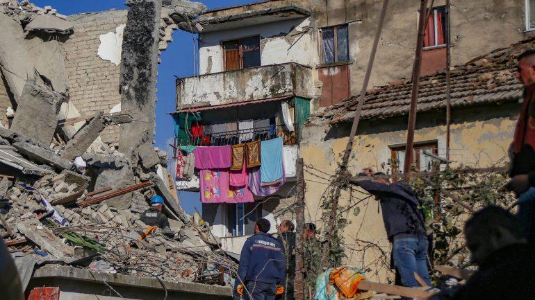 Earthquake In Albania 2 Kl