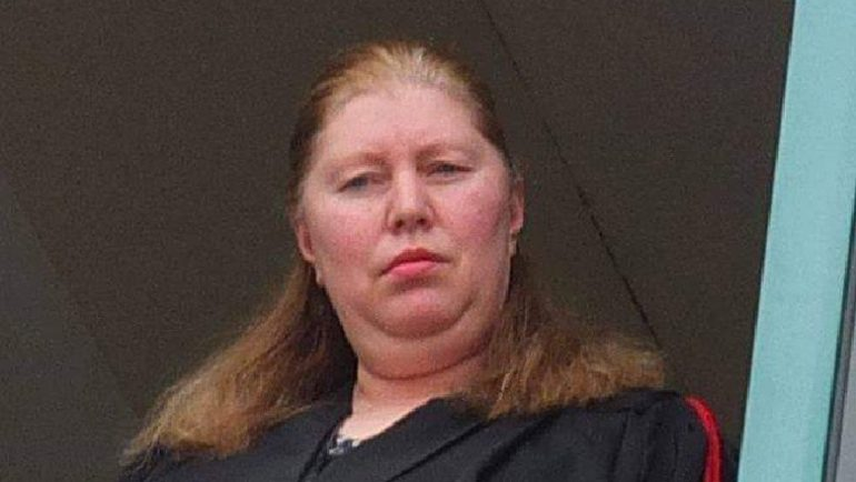 Gjyqtarja Marina Rraboshta