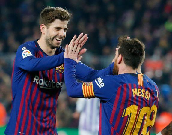 Fbl Esp Liga Barcelona Valladolid
