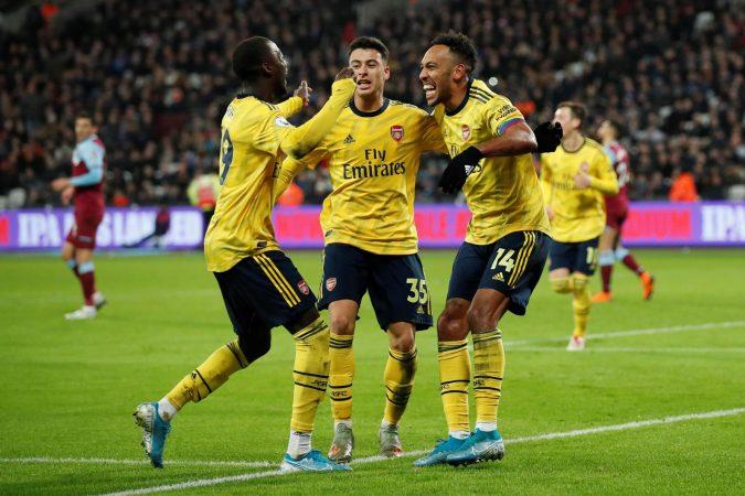 West Ham Arsenal 091219zs
