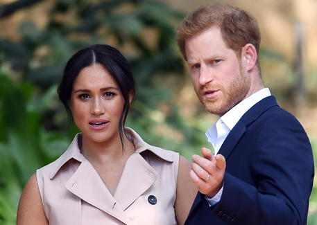 Duke And Duchess Of Sussex Step Back From Royal Family Duties