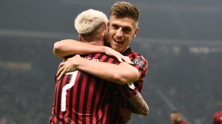 Milan Spal Coppa Italia