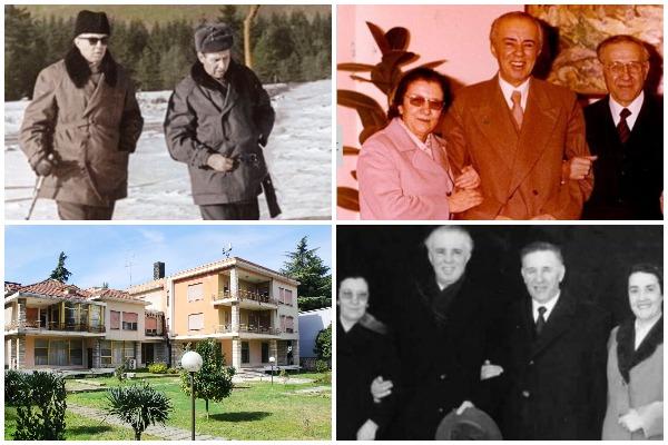 Enver Hoxha Mehmet Sehu Familjet Blloku