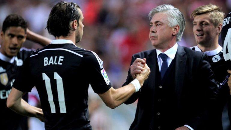 Carlo Ancelotti Gareth Bale Real Madrid Celeb 3302519 1