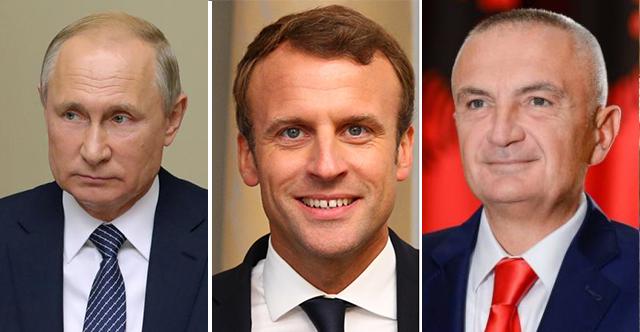 Ilir Meta Macron Putin