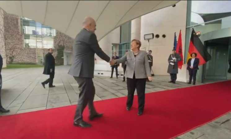 Rama Ne Berlin Takon Merkel