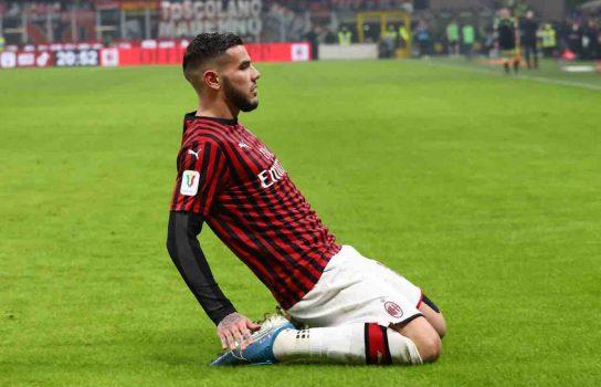 Ac Milan V Spal Coppa Italia