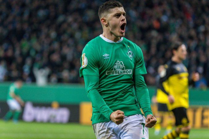 Ger, Dfb Pokal, 3. Runde, Sv Werder Bremen Vs Borussia Dortmund