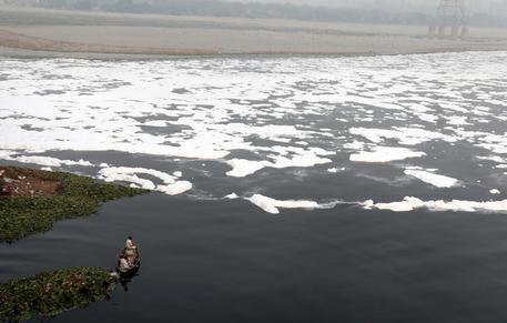 Yamuna River Pollution In New Delhi