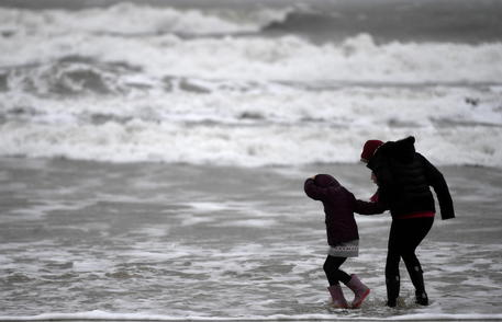 Storm Dennis Hit With Strong Winds Across The Uk