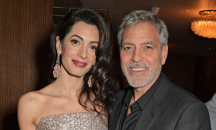 George Amal Clooney London T
