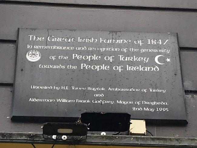Irlandezët Nuk E Harrojnë Ndihmën Osmane Në Kohën E Urisë Së Madhe