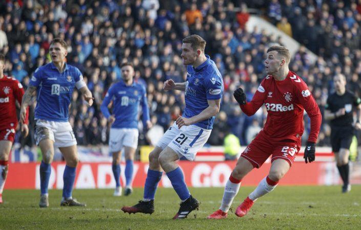 St Johnstone V Rangers Ladbrokes Scottish Premiership Mcdiarmid Park