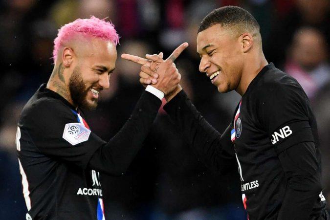 Neymar Kylian Mbappe Psg Paris Saint Germain 2019 20 1d2773sqxaytl1fft3iszwt0cm
