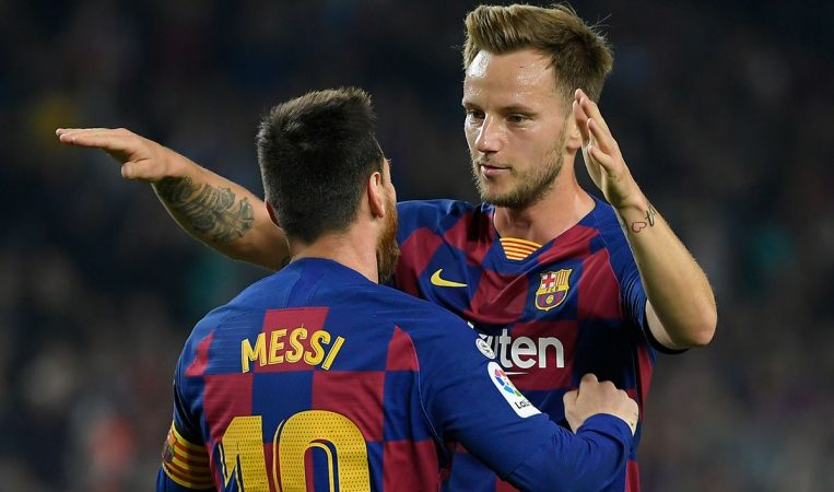 Rakitic Messi Goal