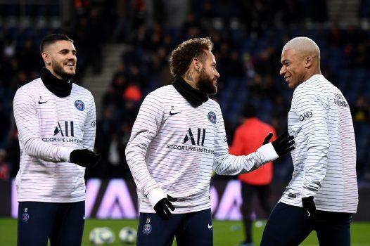 Kylian Mbappe Neymar Mauro Icardi Psg Vs Amiens Ligue 1 2019