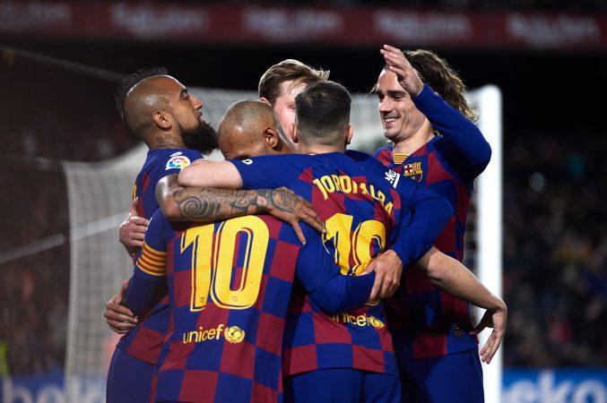 Fc Barcelona V Real Sociedad La Liga