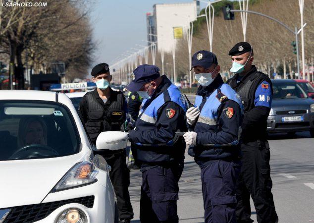 Masat Policia Maska Ndalimi Automjeteve