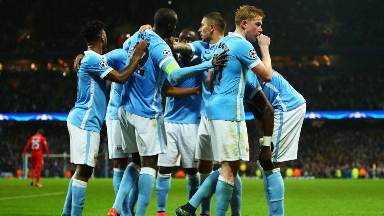 Manchester City Fc V Sevilla Fc Uefa Champions League