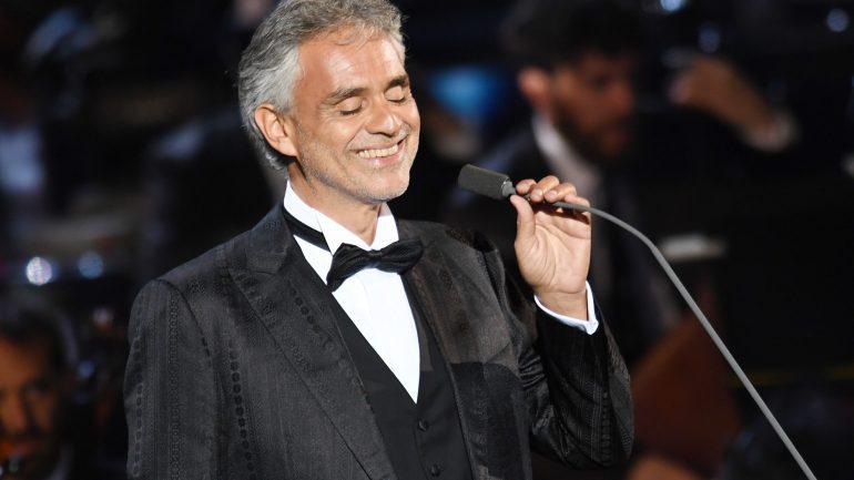 Bocelli And Zanetti Night Concert