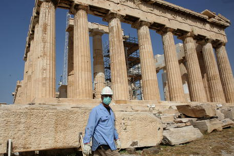 Archaeological Sites Re Open In Greece