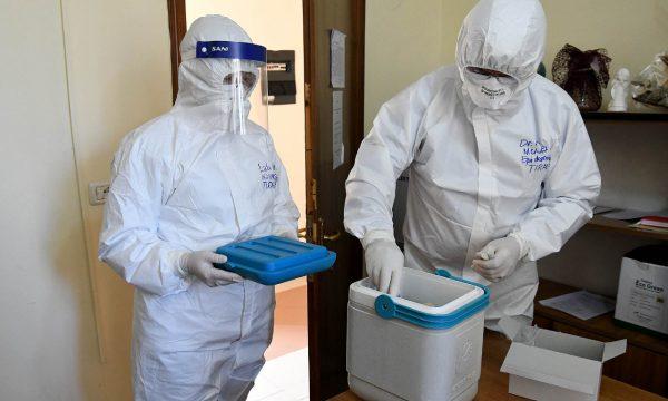 Infektivi Mjeket Tamponet Analiza Koronavirusi Terreni Kontrollet Testet 21 600x360
